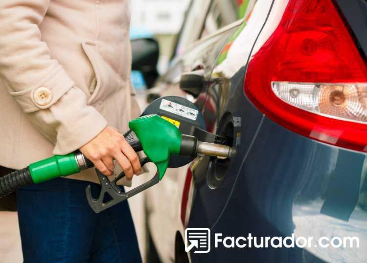 Deducir gastos combustible